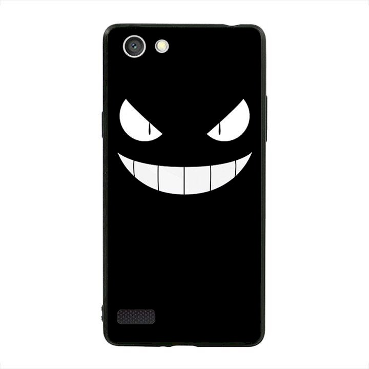 Ốp lưng viền TPU cho dành cho Oppo Neo 7 - Monster 01