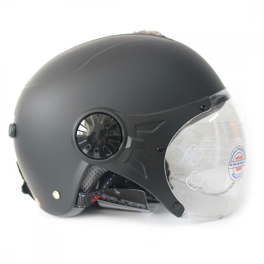 Mũ bảo hiểm có kính SUNDA 137A - 9907530 , 5283734814302 , 62_19760777 , 390000 , Mu-bao-hiem-co-kinh-SUNDA-137A-62_19760777 , tiki.vn , Mũ bảo hiểm có kính SUNDA 137A