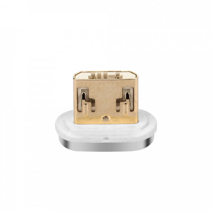 Magnet Charger Port Magnetic Adapter Portable Micro Usb/Type C Plug Slot Connection Sync Phone