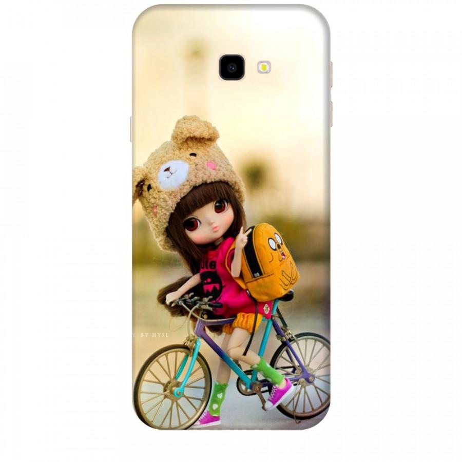 Ốp lưng dành cho điện thoại  SAMSUNG GALAXY J4 PLUS Baby anh Bicycle Mẫu 2