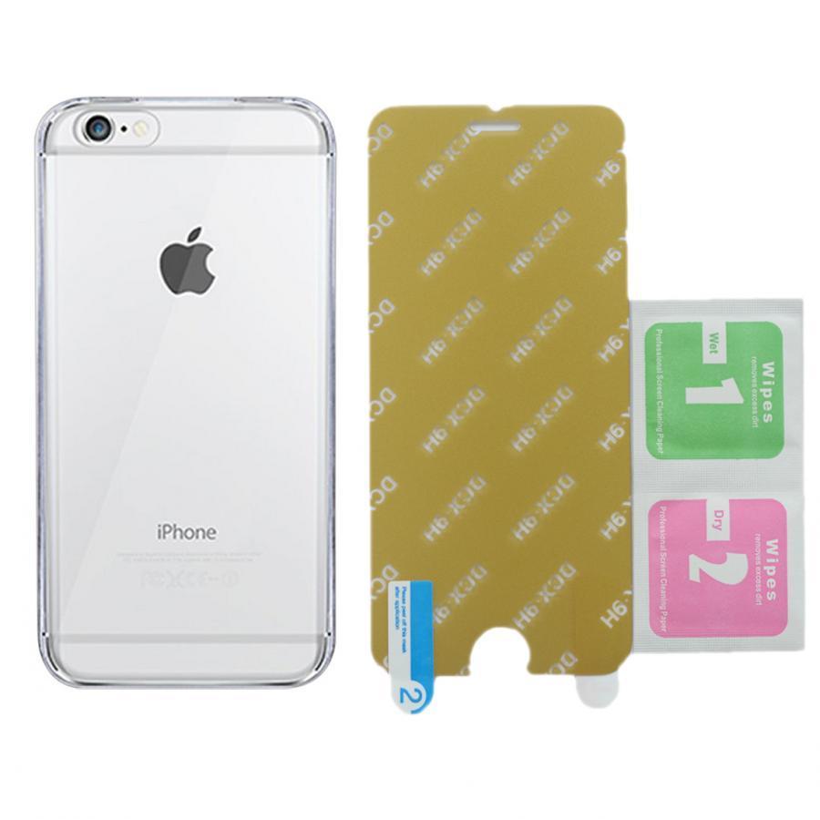 Bộ Ốp Lưng Dẻo Vucase Dành Cho iPhone 6/ 6S + Kính Cường Lực Nano (Trong suốt) - 8133205076319,62_2605061,120000,tiki.vn,Bo-Op-Lung-Deo-Vucase-Danh-Cho-iPhone-6-6S-Kinh-Cuong-Luc-Nano-Trong-suot-62_2605061,Bộ Ốp Lưng Dẻo Vucase Dành Cho iPhone 6/ 6S + Kính Cường Lực Nano (Trong suốt)