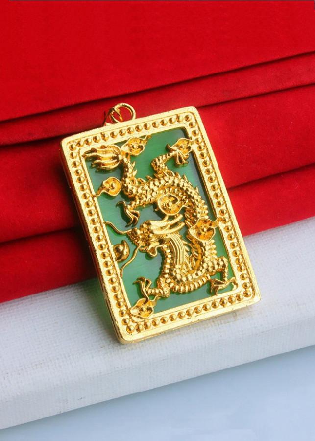 Mặt dây chuyền phong thủy ngọc bích hình Rồng Vàng - 2128901 , 1479394308228 , 62_14341997 , 450000 , Mat-day-chuyen-phong-thuy-ngoc-bich-hinh-Rong-Vang-62_14341997 , tiki.vn , Mặt dây chuyền phong thủy ngọc bích hình Rồng Vàng