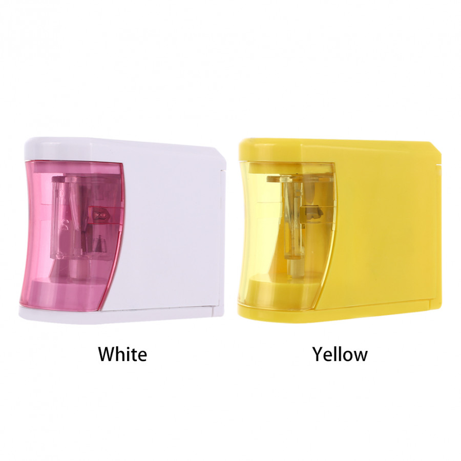 Sharpener Electric Pencil Sharpener Durable 2 AA Batteries Stationery Study