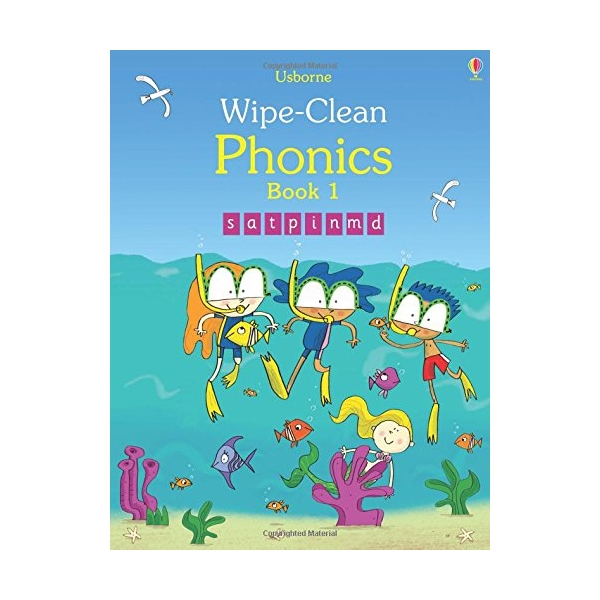 Wipe-Clean Phonics Book 1 - 1705051 , 6886023977666 , 62_11849711 , 252000 , Wipe-Clean-Phonics-Book-1-62_11849711 , tiki.vn , Wipe-Clean Phonics Book 1