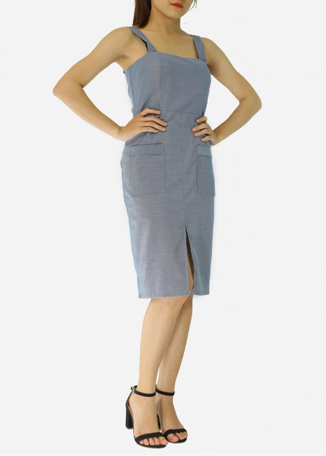 Đầm ôm body EK001 Wanita Fashion