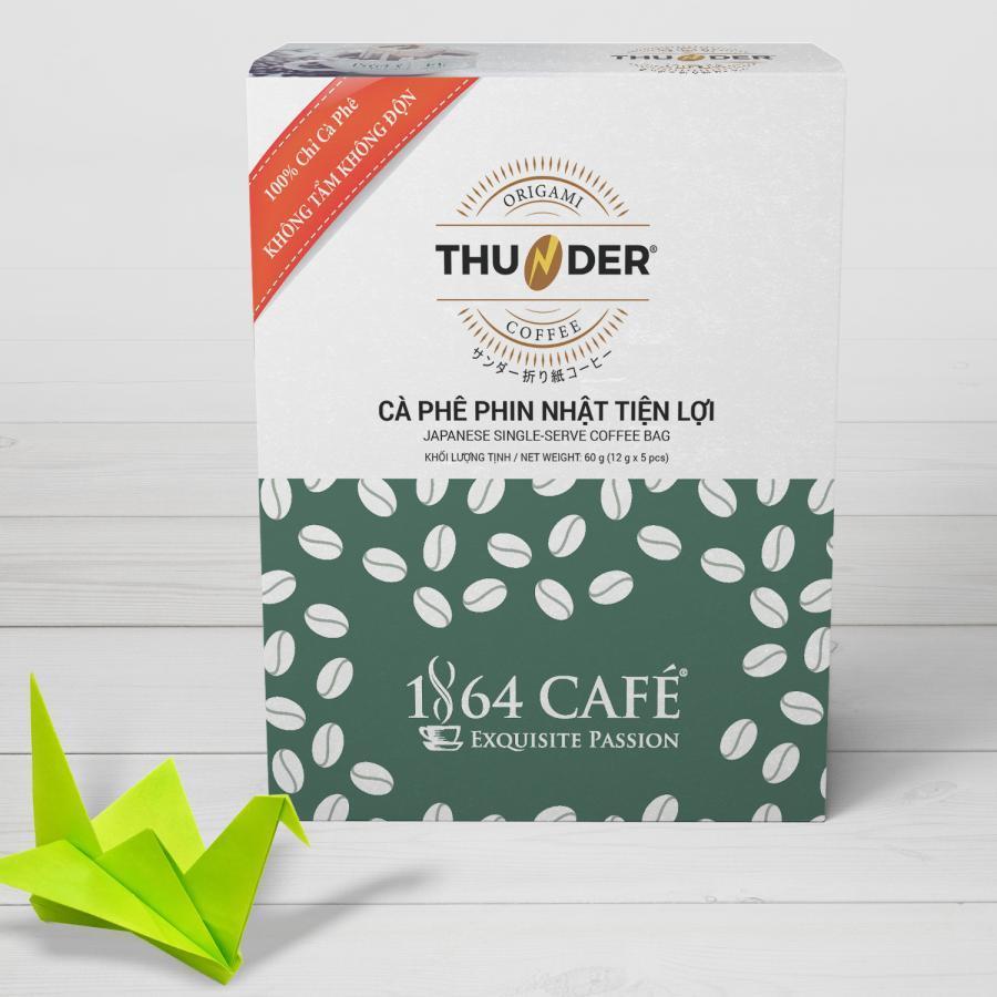 Cà Phê Túi Lọc Phin Giấy Thunder Origami 01 - 1864 Café - 1071225 , 7777302646054 , 62_3672591 , 50000 , Ca-Phe-Tui-Loc-Phin-Giay-Thunder-Origami-01-1864-Cafe-62_3672591 , tiki.vn , Cà Phê Túi Lọc Phin Giấy Thunder Origami 01 - 1864 Café