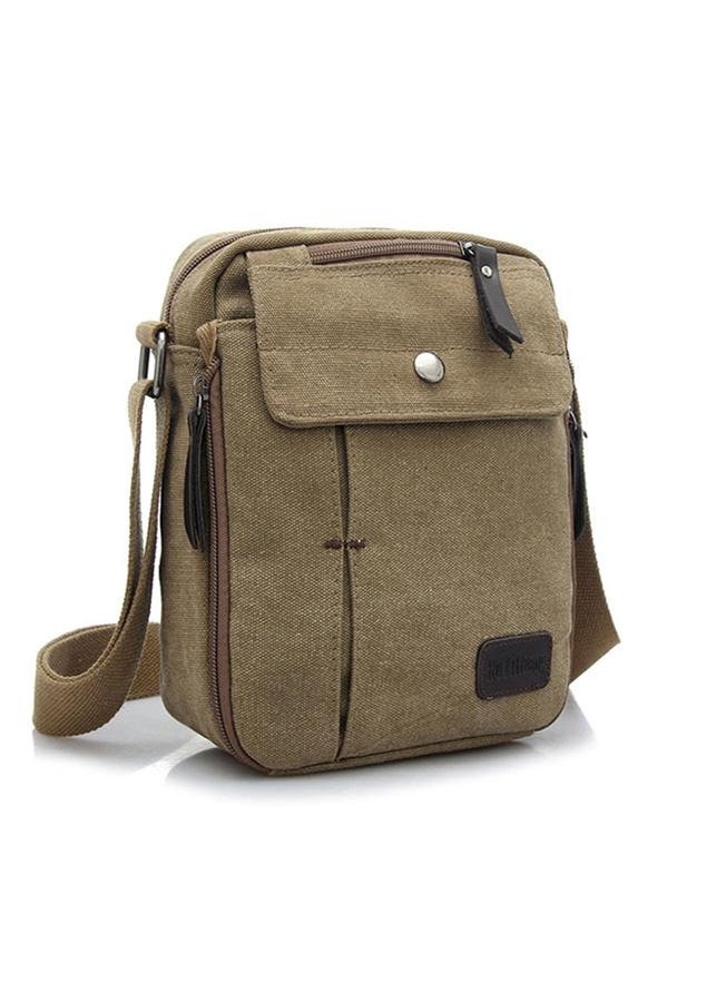 Túi messenger vải canvas đeo chéo D6662