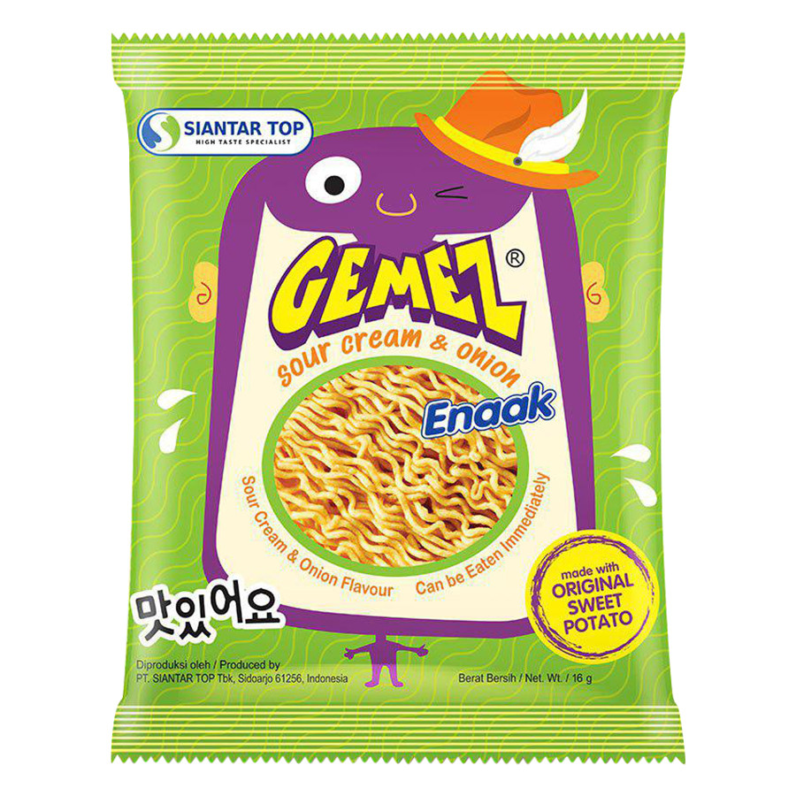 Mì Snack Gemez Enaak Kem Chua Và Hành Tây - 1364738 , 8994834004896 , 62_6138531 , 5500 , Mi-Snack-Gemez-Enaak-Kem-Chua-Va-Hanh-Tay-62_6138531 , tiki.vn , Mì Snack Gemez Enaak Kem Chua Và Hành Tây