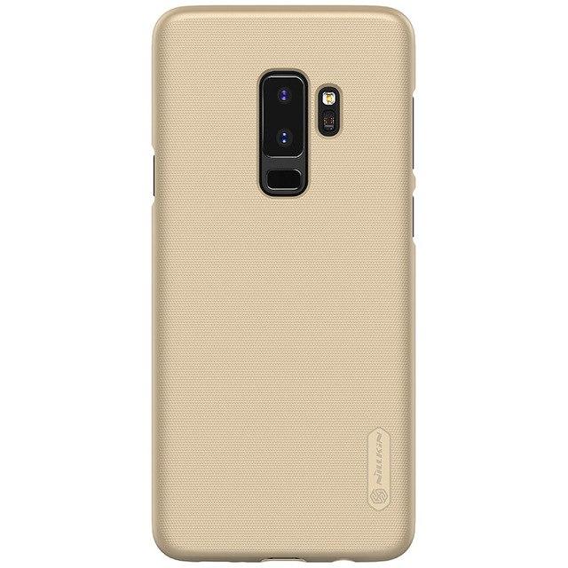 Ốp lưng sần cho Samsung Galaxy S9 Plus hiệu Nillkin (Đính kèm phụ kiện ngẫu nhiên) - Hàng chính hãng