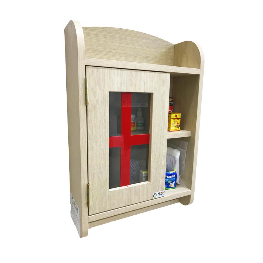 Tủ thuốc y tế gia đình gỗ cao cấp NSH
