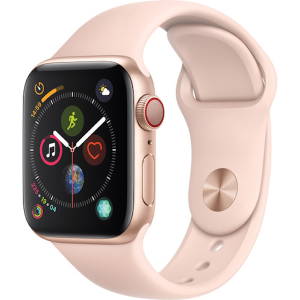 Đồng hồ Apple Watch Series 4 GPS + Cellular, 40mm Silver Aluminum Case with Sport Band - 5779654 , 6774390377410 , 62_16059377 , 14490000 , Dong-ho-Apple-Watch-Series-4-GPS-Cellular-40mm-Silver-Aluminum-Case-with-Sport-Band-62_16059377 , tiki.vn , Đồng hồ Apple Watch Series 4 GPS + Cellular, 40mm Silver Aluminum Case with Sport Band