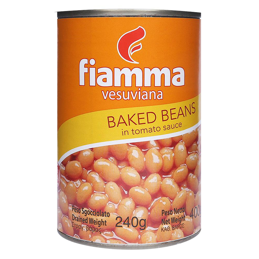 Đậu Sốt Cà Fiamma (400g/ Hộp)