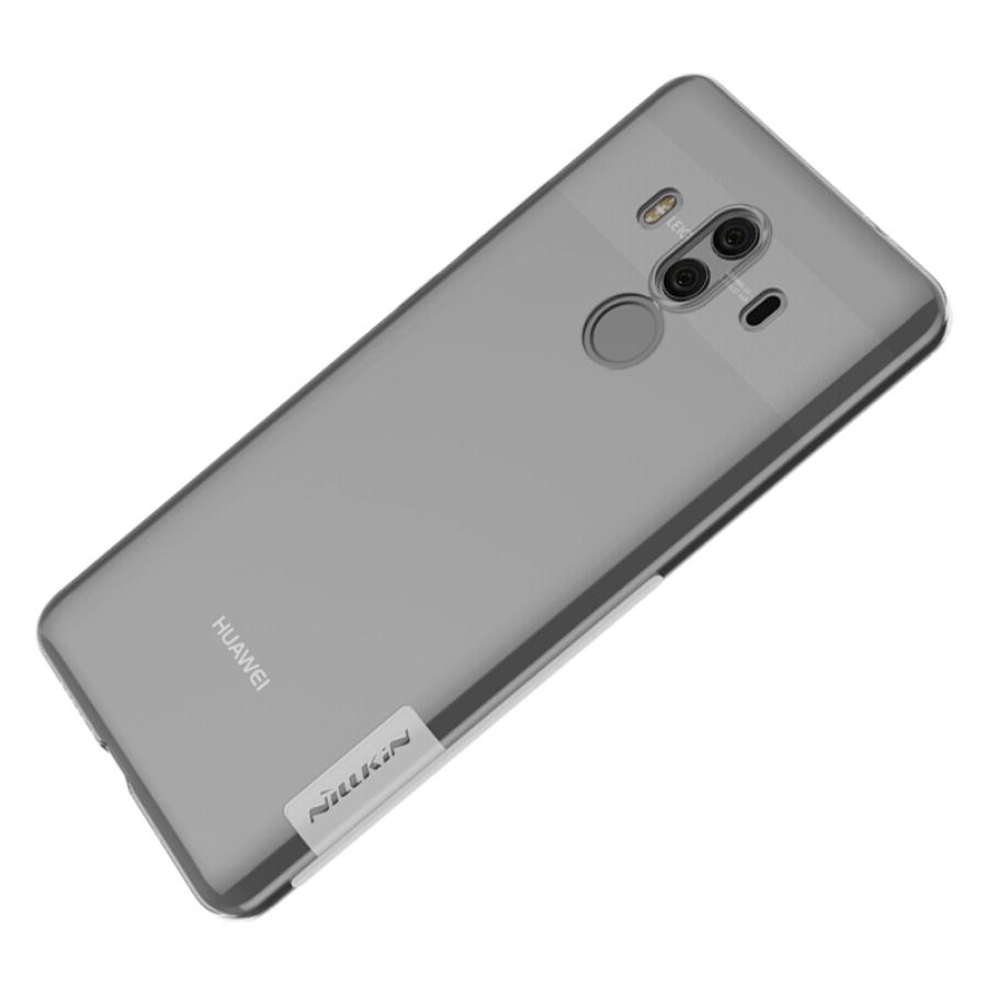 Ốp Lưng Trong Suốt Cho Huawei Mate 10 Pro Nillkin - Trắng