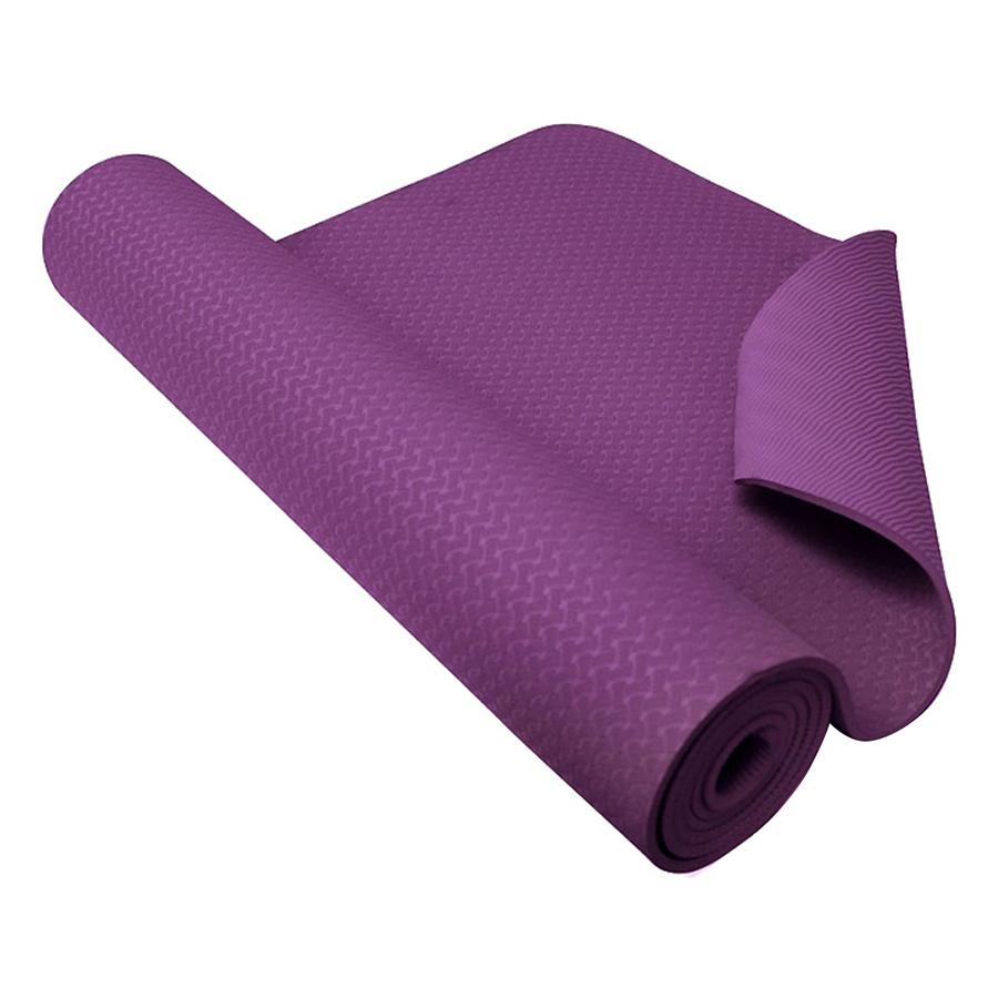 Thảm tập yoga TPE 1 lớp 8mm (Tím) + Tặng túi đựng thảm và dây buộc thảm - 979515 , 3344457088189 , 62_14075687 , 550000 , Tham-tap-yoga-TPE-1-lop-8mm-Tim-Tang-tui-dung-tham-va-day-buoc-tham-62_14075687 , tiki.vn , Thảm tập yoga TPE 1 lớp 8mm (Tím) + Tặng túi đựng thảm và dây buộc thảm