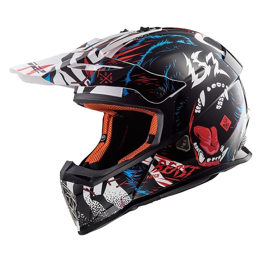 Mũ Bảo Hiểm Off Road LS2 Fast MX437