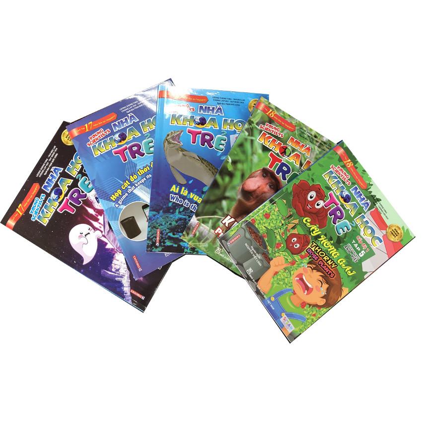 Combo Sách Song Ngữ Nhà Khoa Học Trẻ (Cấp Độ 1)