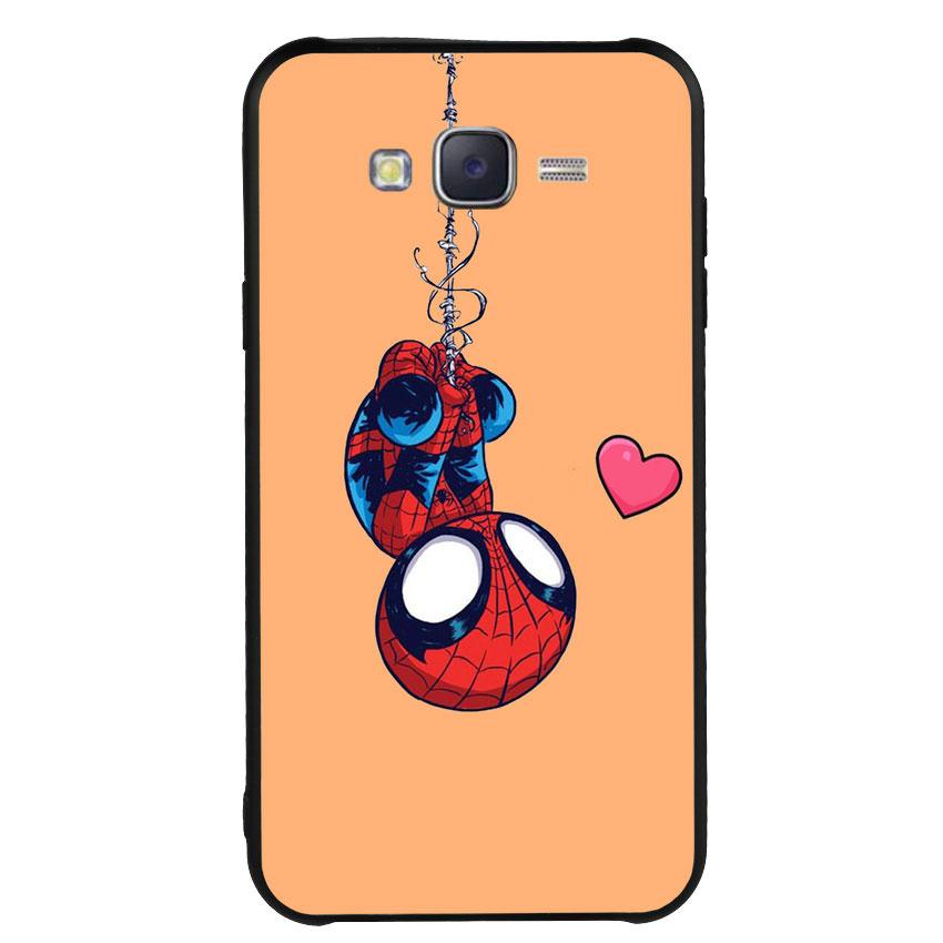 Ốp Lưng Viền TPU cho điện thoại Samsung Galaxy J7 2015 - Spiderman 02