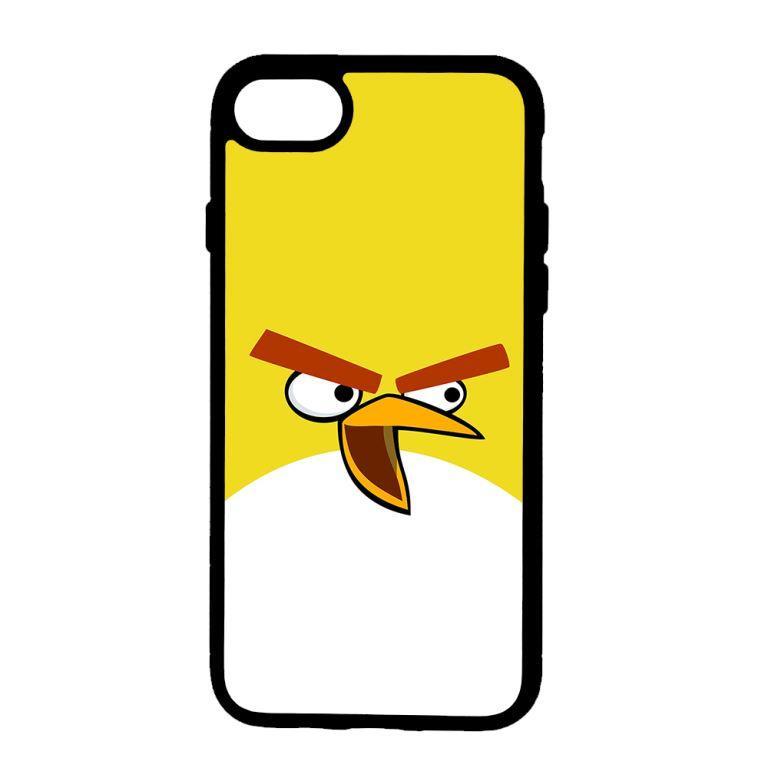 Ốp lưng dành cho Iphone 8 Chim Điên Nền Vàng - Hàng Chính Hãng