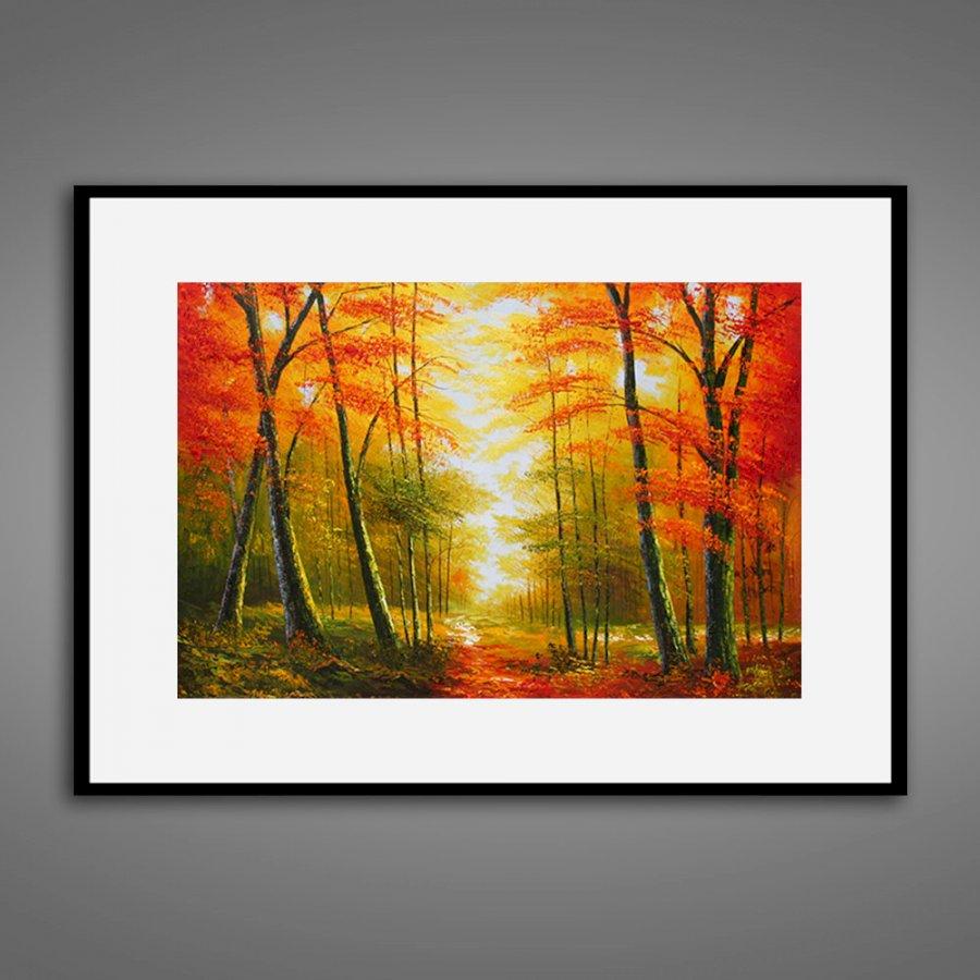 Tranh treo tường | Tranh trang trí sơn dầu canvas 08