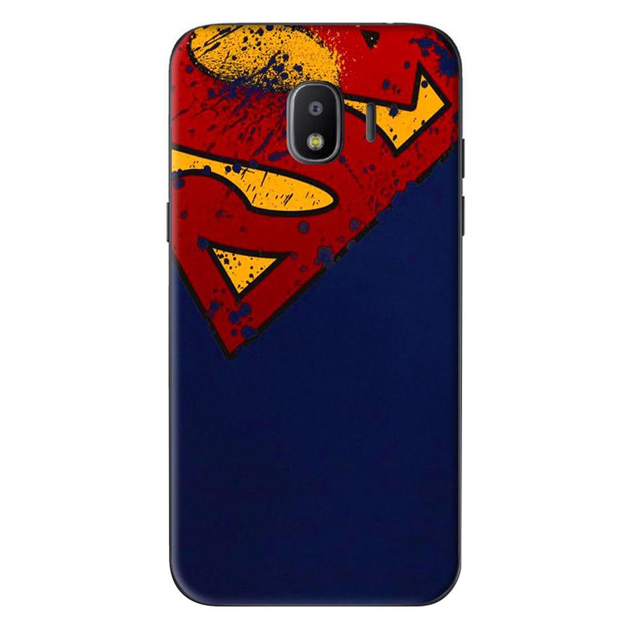 Ốp Lưng Dành Cho Samsung Galaxy J4 2018 / J2 Pro 2018 - Superman Nửa
