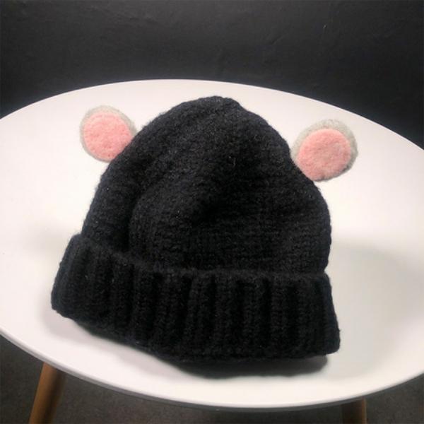 Mũ nón len cho bé hình tai gấu