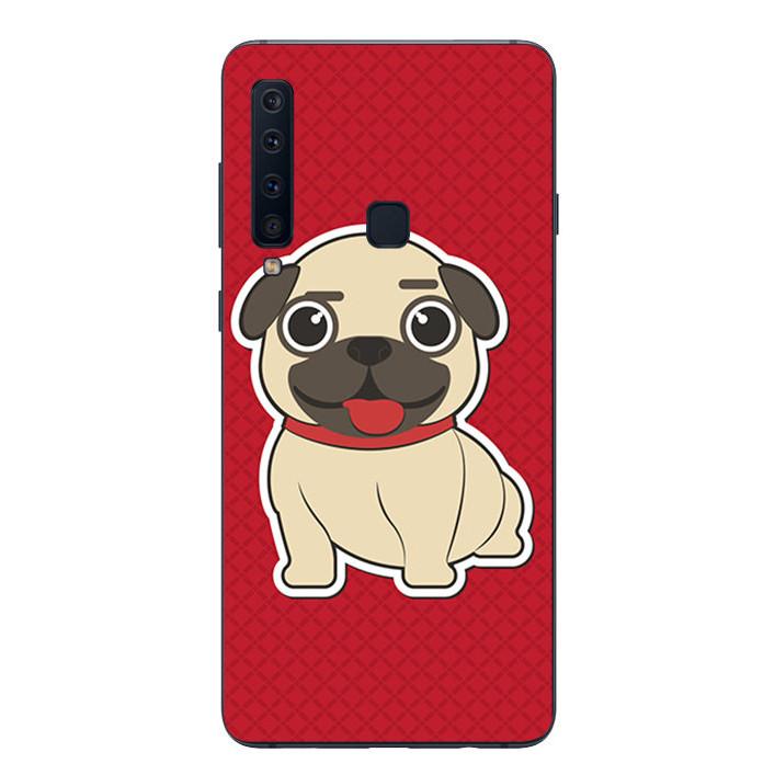 Ốp lưng Dẻo Cho Samsung Galaxy A9 2018 - Cute Dog 01