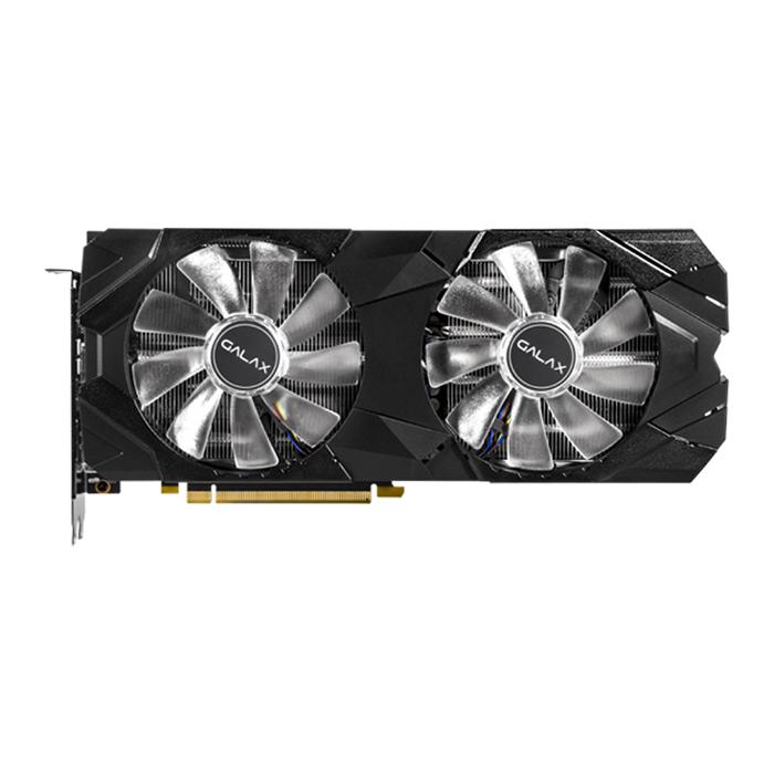 Card Màn Hình VGA Galax GeForce RTX 2080 EX 1 Click OC 8GB GDDR6 28NSL6UCU9EN 256-bit 2 Fan HDMI - Hàng Chính Hãng