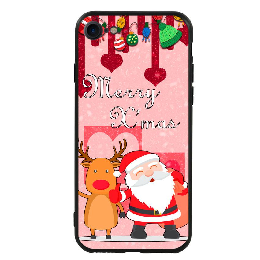 Ốp lưng viền TPU cho điện thoại Iphone 7 / Iphone 8 - Xmas 04