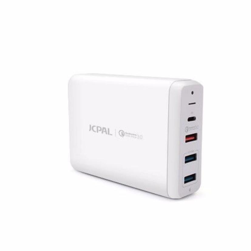 Adapter sạc đa cổng JCPAL cho MacBook / iPad / iPhone Usb-C công nghệ sạc nhanh Quick Charge 3.0 - 7185353 , 4497785450056 , 62_10706416 , 1849000 , Adapter-sac-da-cong-JCPAL-cho-MacBook--iPad--iPhone-Usb-C-cong-nghe-sac-nhanh-Quick-Charge-3.0-62_10706416 , tiki.vn , Adapter sạc đa cổng JCPAL cho MacBook / iPad / iPhone Usb-C công nghệ sạc nhanh Q