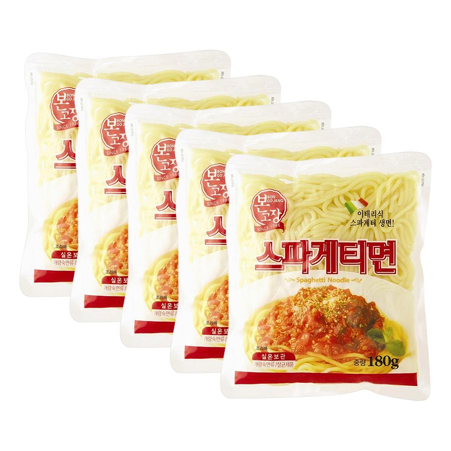 Combo 5 Gói Mì Sợi Spaghetti Hanil Food (180g / Gói)