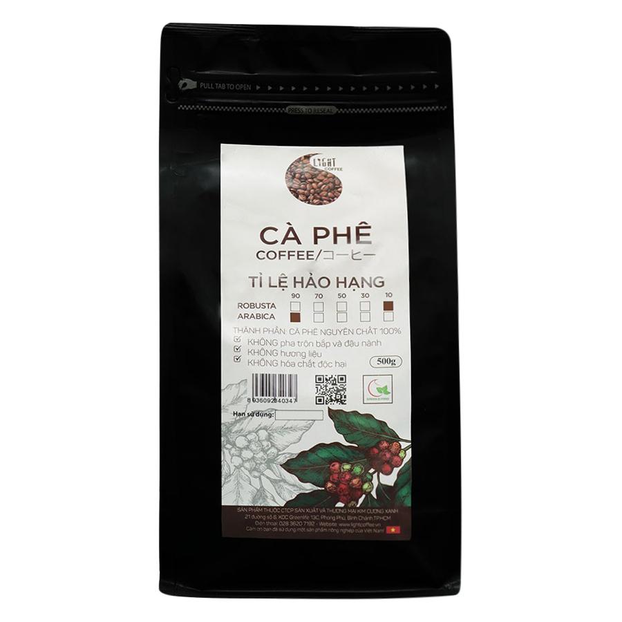 Cà Phê Hạt Nguyên Chất Tỉ Lệ Hảo Hạng 10% Robusta Và 90% Arabica Light Coffee 1R9AHH500 (500g / Gói) - 879447 , 8805028469820 , 62_1385369 , 376000 , Ca-Phe-Hat-Nguyen-Chat-Ti-Le-Hao-Hang-10Phan-Tram-Robusta-Va-90Phan-Tram-Arabica-Light-Coffee-1R9AHH500-500g--Goi-62_1385369 , tiki.vn , Cà Phê Hạt Nguyên Chất Tỉ Lệ Hảo Hạng 10% Robusta Và 90% Arabica L