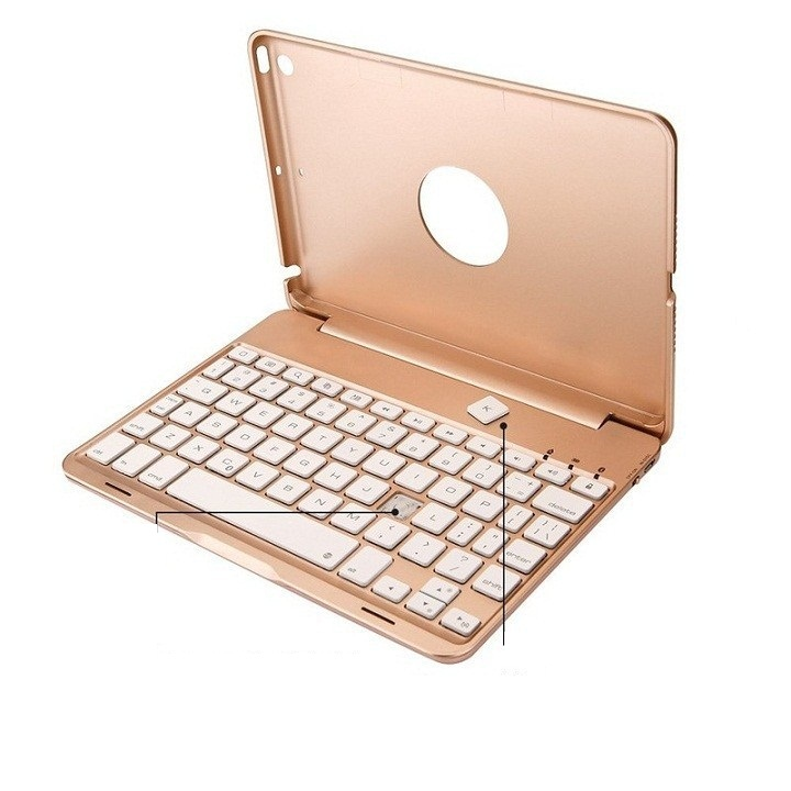 Ốp lưng bàn phím Bluetooth với 7 màu đèn nền dành cho iPad mini 1/2/3, mini 4, ipad air, ipad air 2, ipad 2017, ipad 2018, ipad Pro... - 4927884 , 4735088007448 , 62_13119721 , 1390000 , Op-lung-ban-phim-Bluetooth-voi-7-mau-den-nen-danh-cho-iPad-mini-1-2-3-mini-4-ipad-air-ipad-air-2-ipad-2017-ipad-2018-ipad-Pro...-62_13119721 , tiki.vn , Ốp lưng bàn phím Bluetooth với 7 màu đèn nền dà
