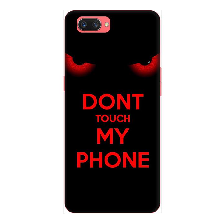 Ốp lưng cho điện thoại Realme C1 hình Dont Touch My Phone