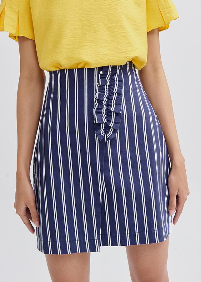 Váy Nữ Sọc Lưng Liền Đắp Bèo Nhỏ Marc Fashion - 861854 , 9807790617842 , 62_14675774 , 355000 , Vay-Nu-Soc-Lung-Lien-Dap-Beo-Nho-Marc-Fashion-62_14675774 , tiki.vn , Váy Nữ Sọc Lưng Liền Đắp Bèo Nhỏ Marc Fashion