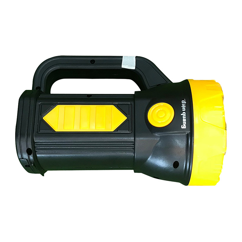 Đèn Pin LED Điện Quang ĐQ PFL09 R BLY (Pin Sạc, Đen - Vàng) Hàng Chính Hãng
