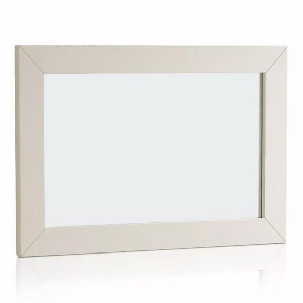 Gương Treo Tường Shutter Gỗ Sồi Ibie GMWSHUO - Trắng (60 x 90 cm)