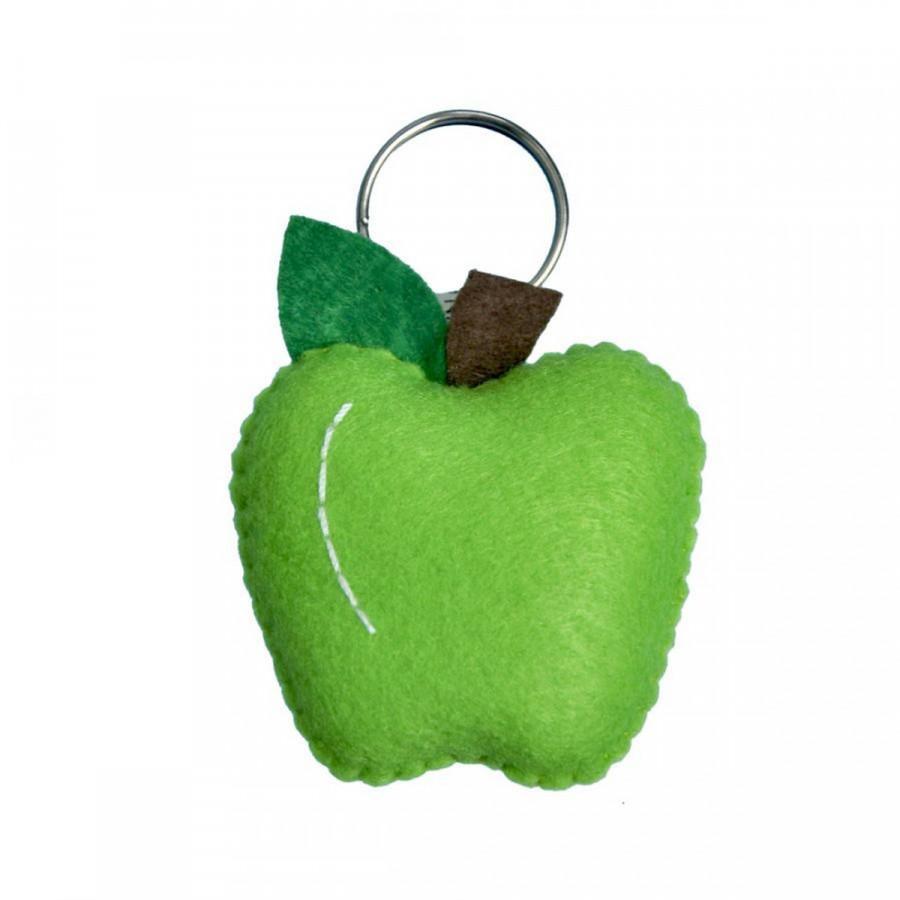 Móc khoá trái táo xanh
