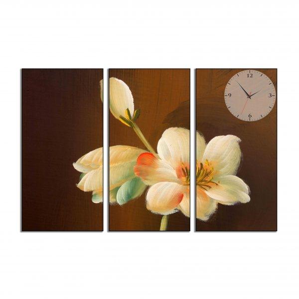 Tranh đồng hồ in Canvas Lén nở ban khuya - 3 mảnh - 7070323 , 8523194103514 , 62_10351953 , 897500 , Tranh-dong-ho-in-Canvas-Len-no-ban-khuya-3-manh-62_10351953 , tiki.vn , Tranh đồng hồ in Canvas Lén nở ban khuya - 3 mảnh