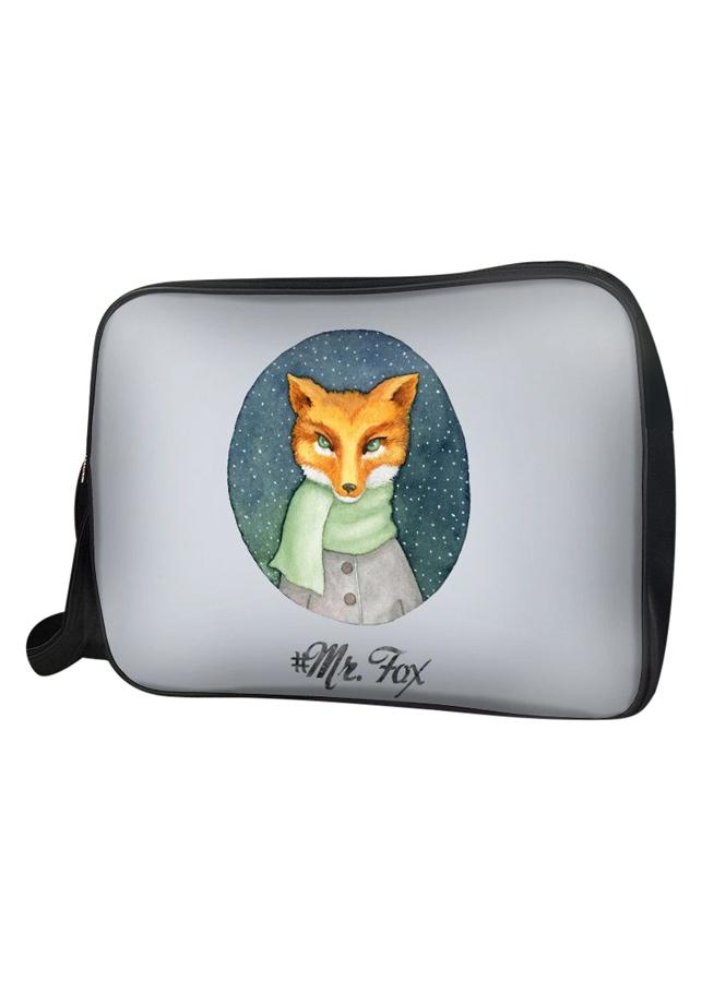Túi Đeo Chéo Unisex Hộp Mr. Fox TCAA082