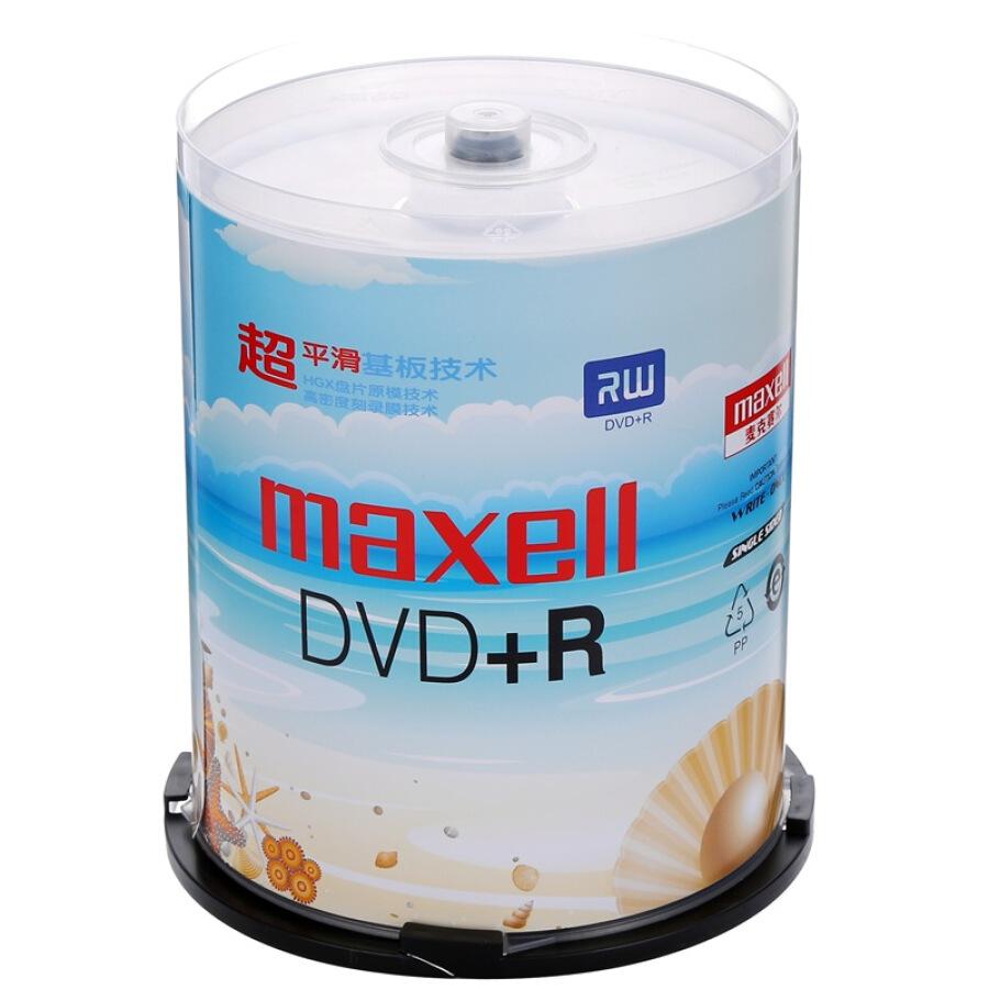 Hộp 100 Đĩa Trắng DVD + R 16 speed 4.7G Maxell