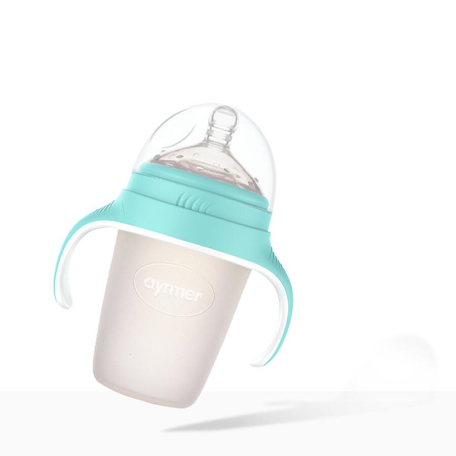 Bình Sữa Em Bé Silicon Aynmer AYM-9244 240ml