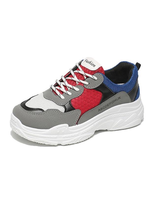 Giày Sneaker Thể Thao Nữ Họa Tiết Lah Mắt Độn Đế Tăng Chiều Cao 2606 - 2328345 , 3242140534961 , 62_15065927 , 272000 , Giay-Sneaker-The-Thao-Nu-Hoa-Tiet-Lah-Mat-Don-De-Tang-Chieu-Cao-2606-62_15065927 , tiki.vn , Giày Sneaker Thể Thao Nữ Họa Tiết Lah Mắt Độn Đế Tăng Chiều Cao 2606