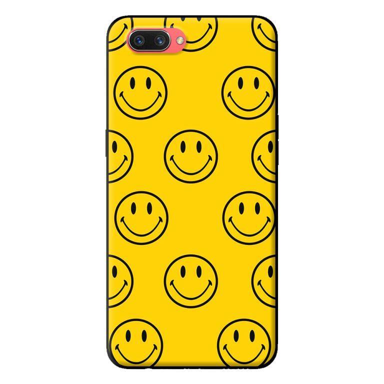 Ốp in cho Oppo Realme C1 Icon Happy - Hàng chính hãng