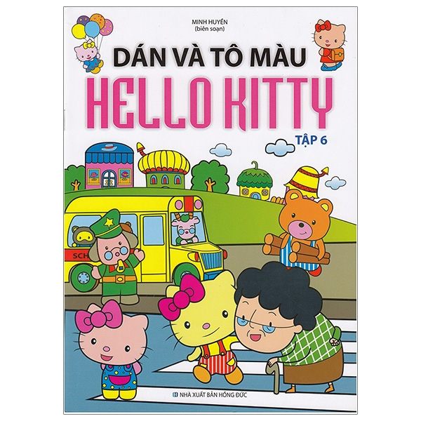 Dán Và Tô Màu Hello Kitty - Tập 6