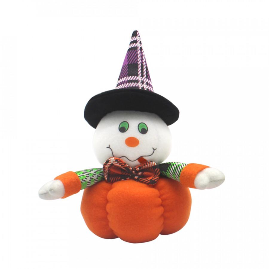 Halloween Stuffed Pumpkin Doll Toy Halloween Party Supplies Decoration Ornaments--Ghost