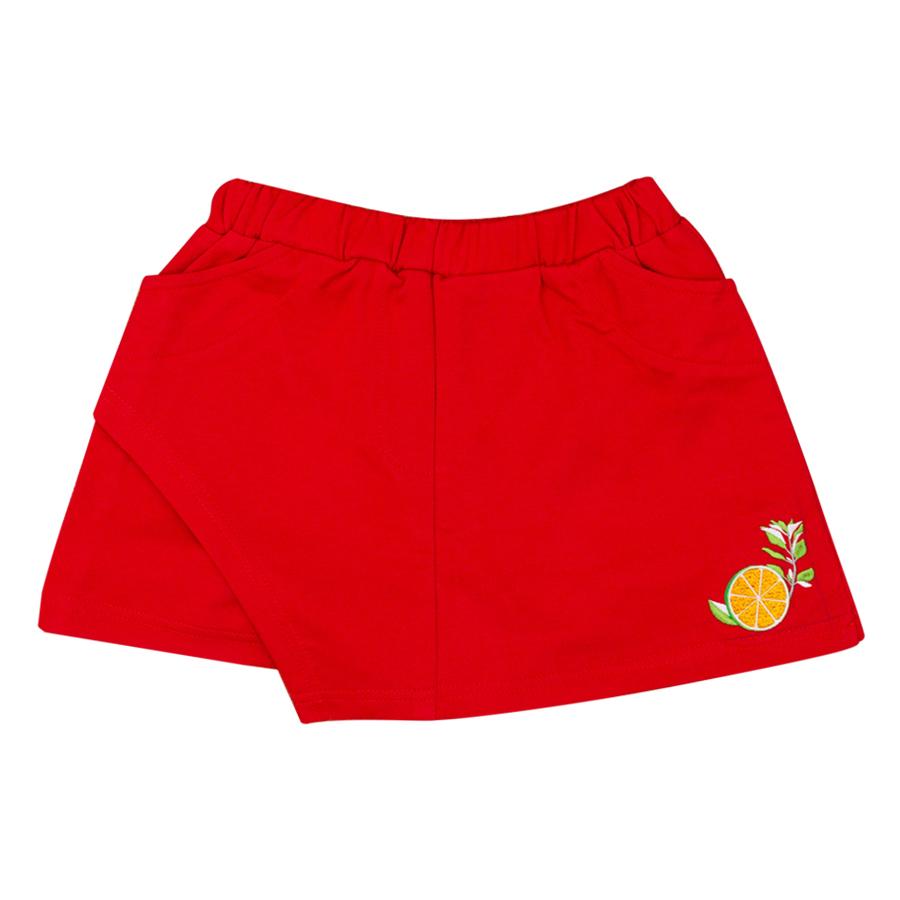 Chân Váy Giả Quần Bé Gái Thêu Lát Chanh Yellow Ribbon YRG-008