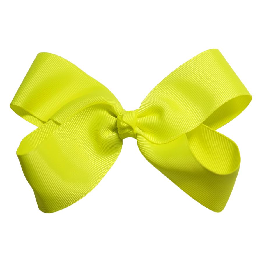 Kẹp Nơ Đại Gân Sọc Bé Gái CucKeo Kids T101822 - Vàng