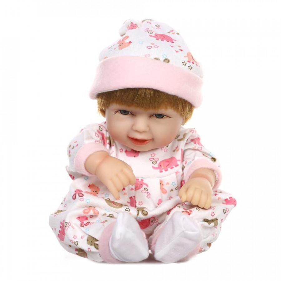 10in Reborn Baby Rebirth Doll Kids Gift Pink Bag All Silica Gel Girl - 4868662 , 5185948928724 , 62_16662754 , 901000 , 10in-Reborn-Baby-Rebirth-Doll-Kids-Gift-Pink-Bag-All-Silica-Gel-Girl-62_16662754 , tiki.vn , 10in Reborn Baby Rebirth Doll Kids Gift Pink Bag All Silica Gel Girl