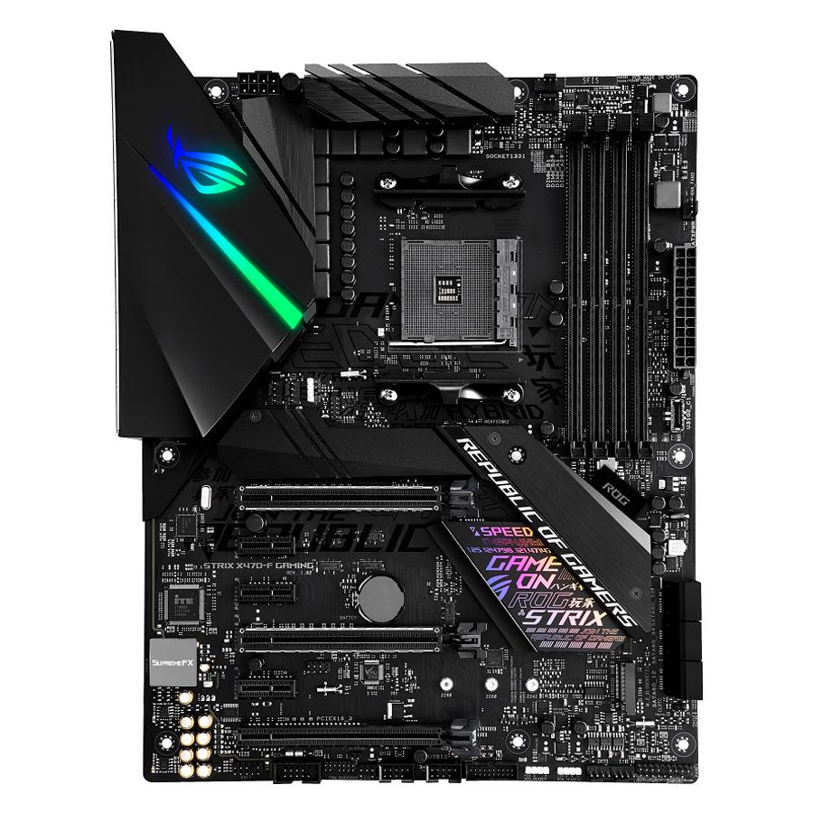 Bo Mạch Chủ Mainboard Gaming ASUS ROG STRIX X470-F GAMING AMD X470 ATX - Hàng Chính Hãng - 1444832 , 6338037032355 , 62_7797879 , 5510000 , Bo-Mach-Chu-Mainboard-Gaming-ASUS-ROG-STRIX-X470-F-GAMING-AMD-X470-ATX-Hang-Chinh-Hang-62_7797879 , tiki.vn , Bo Mạch Chủ Mainboard Gaming ASUS ROG STRIX X470-F GAMING AMD X470 ATX - Hàng Chính Hãng