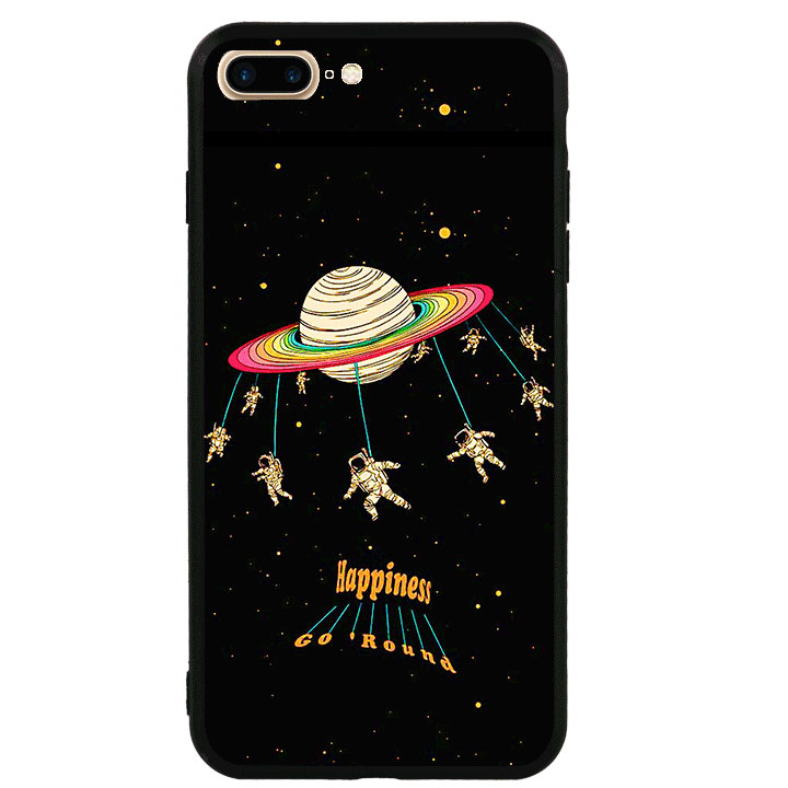 Ốp lưng viền TPU cao cấp cho Iphone 7 Plus - Space 01